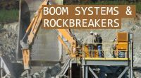 Boom Systems & Rock Breakers